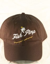Fish Pimp Logo Hat Black_600