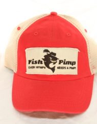 Fish Pimp Trucker Hat Red_600