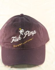 Fish pimp Logo Hat Navy_600